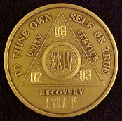 AA Medallions | Al-Anon Medallions | AA Jewelry | Alcoholics Anonymous Recovery Gifts