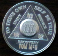 Silver AA Medallions