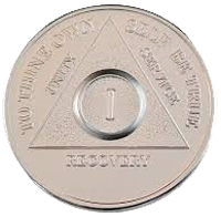 Silver Plated AA Medallions