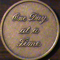 One Day At A Time Medallion