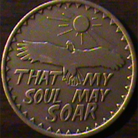 That My Soul May Soar Medallion I seek strength not to be greater than my brother, but to fight my greatest enemy MYSELF