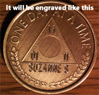 Group Recovery Medallions |Alcoholics Anonymous | Al-Anon