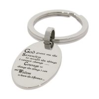 Key Chains with Serenity Prayer