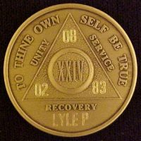 Alcoholics Anonymous Medallion | Alcoholics Anonymous Medallions