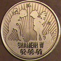 Boy and Girl Together Medallion