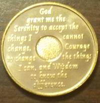 Gold AA Medallion