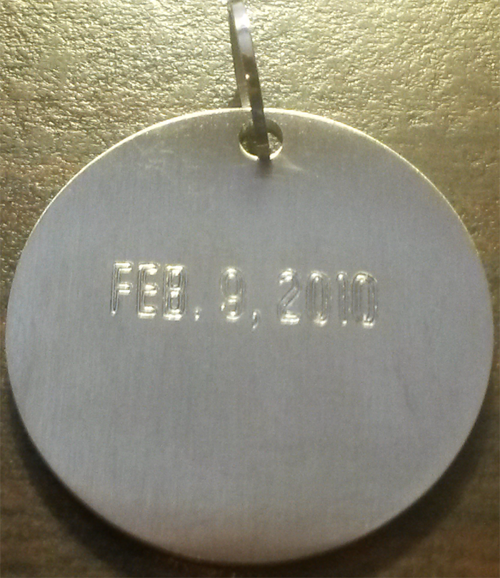 Engravable Recovery Jewelry