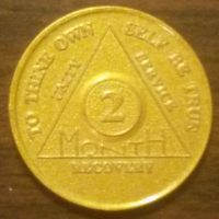 2 Month Gold Aluminum Chip