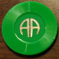 Green Poker Chip | AA Green Chip