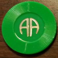Green Poker Chip | AA Green Chip