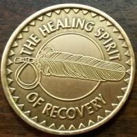 Healing Spirit of Recovery Medallion | Great Spirit Prayer