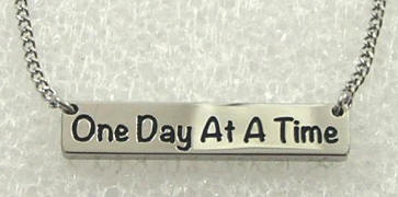 One Day At A Time Unisex Necklace
