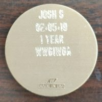 Renewal Medallion Engraved wwg1wga